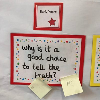 Early Years - Why is it a good choice to tell the truth?
