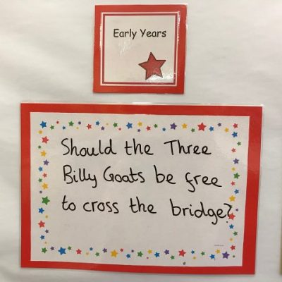Early Years - Should the Three Billy Goats Gruff be free to cross the bridge