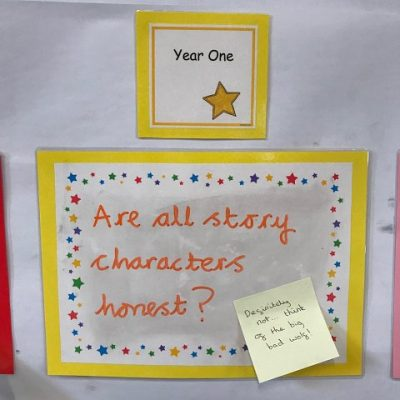 Year 1 - Are all story characters honest?
