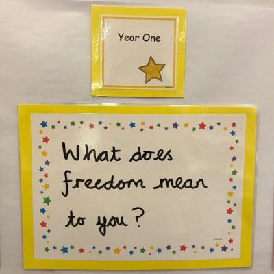 Year 1 - What does freedom mean to you?