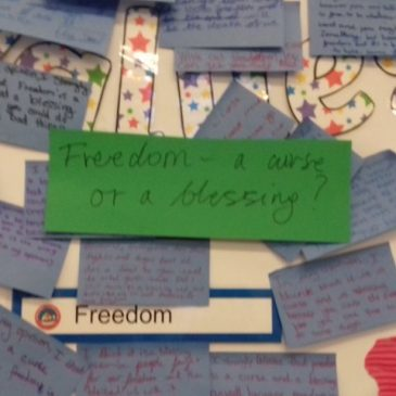 Elm Class – Freedom Week – Nov 18