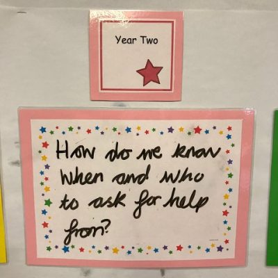 Year 2 - How do we know when and who to ask for help?