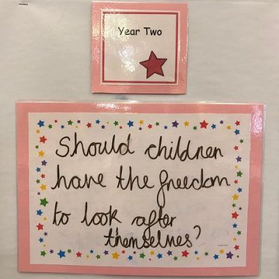 Year 2 - Should children have the freedom to look after themselves?