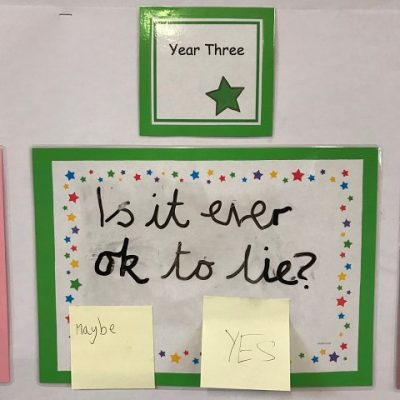 Year 3 - Is it ever ok to lie?