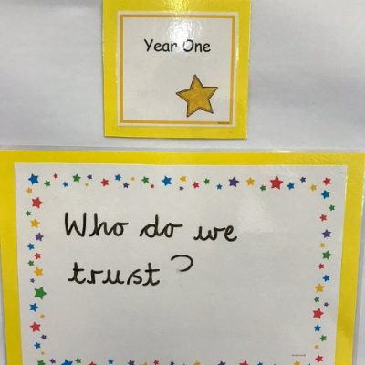 Year 1 - Who do we trust?