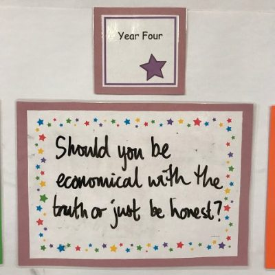 Year 4 - Should you be economical with the truth or just be honest?