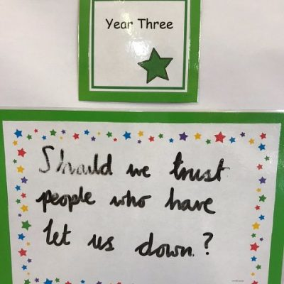 Year 3 - Should we trust people who have let us down?