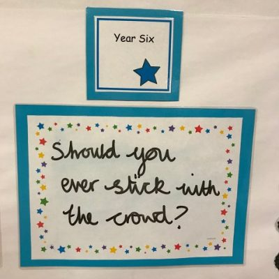 Year 6 - Should you ever stick with the crowd?