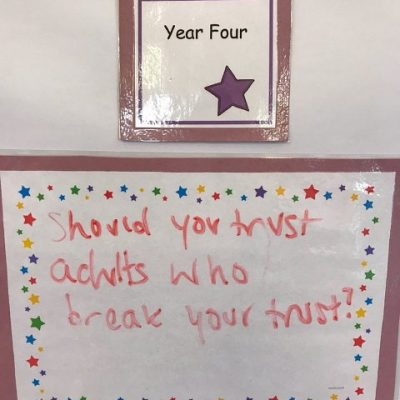 Year 4 - Should you trust adults who break your trust?