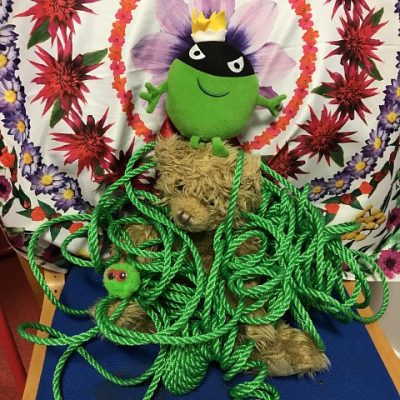 Evil Pea kidnapped Sunflower's Fred Bear for nearly 2 weeks!!!