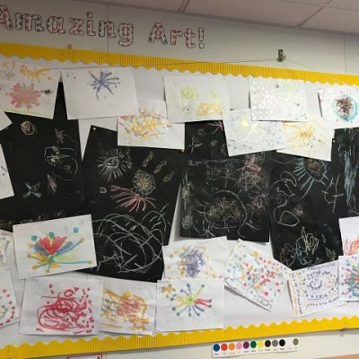 Don't forget to pop-in to check out Sunflower's amazing collaborative firework artwork! :-)